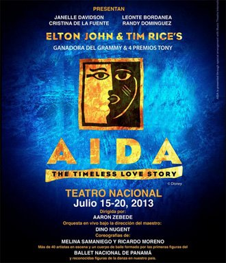 Verano en Panamá: Elton John and Tim Rice's Aida