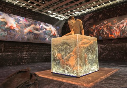 IX Bienal (2013) Beat Kuert - Et Sic In Infinitum, Site-specific installation and performance