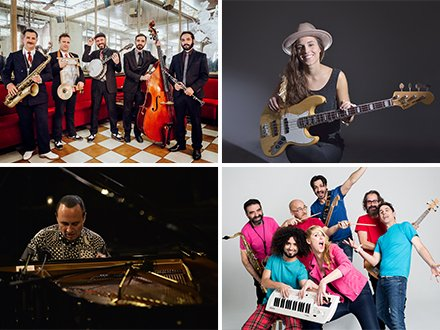 JAZZMADRID 18: Madrid Hot Jazz Band, Kinga Glyk, Michel Camilo y Noa Lur
